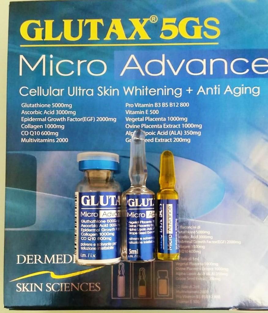 GLUTAX 5GS MICRO ADVANCE 36PCS. - Glutathione Philippines